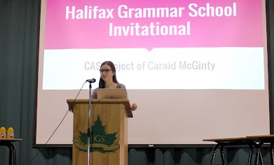 Caraid McGinty (Halifax Grammar) organized the 2016 Halifax Grammar School Invitational.